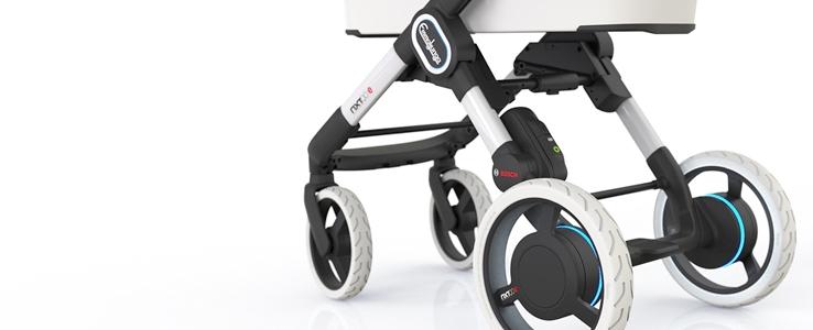 evertiq emmaljunga r stet elektro kinderwagen mit bosch motoren aus. Black Bedroom Furniture Sets. Home Design Ideas